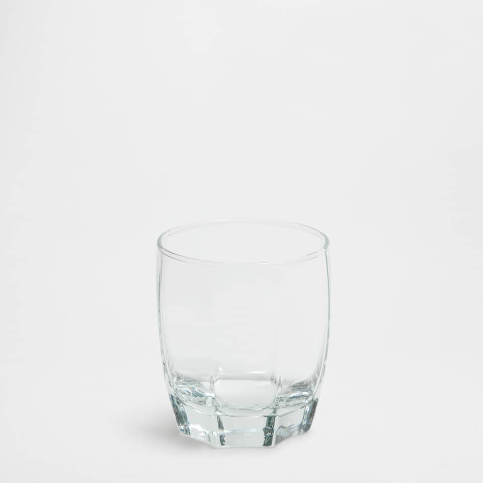Cornered Base Tumbler
