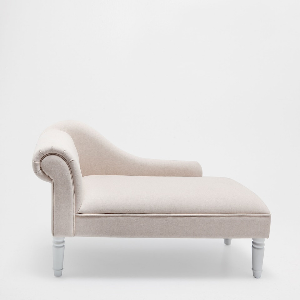 QUILTED CHAISE LONGUE