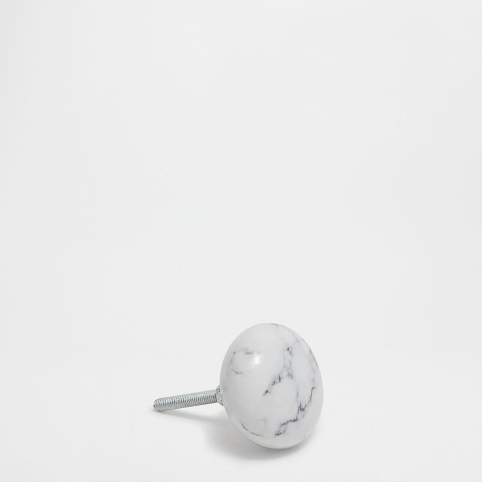 MARBLE-EFFECT KNOB (SET OF 2)