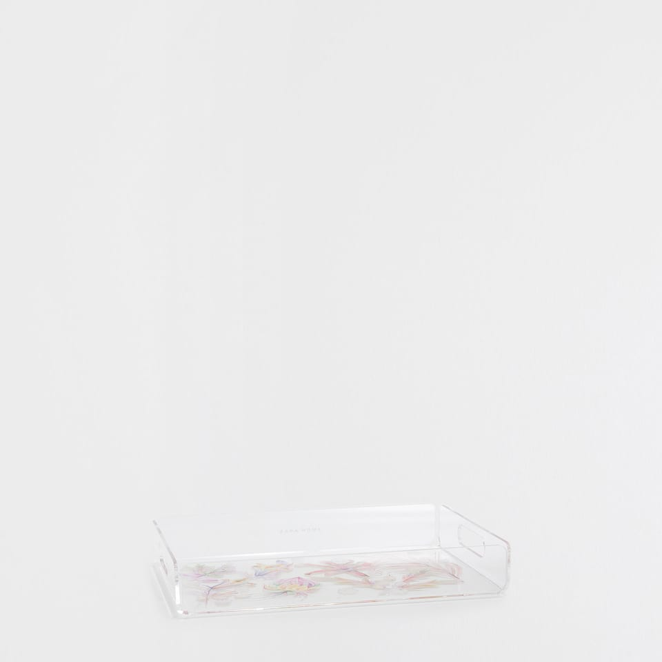 FLORAL METHACRYLATE TRAY