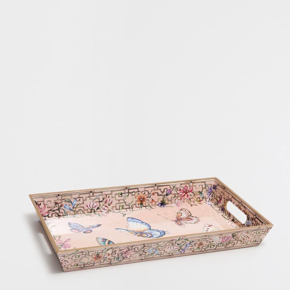 MEDIUM ROMANTIC-PRINT TRAY
