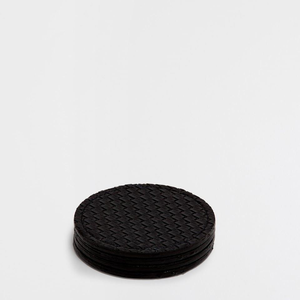 PLAITED COASTERS (SET OF 4)