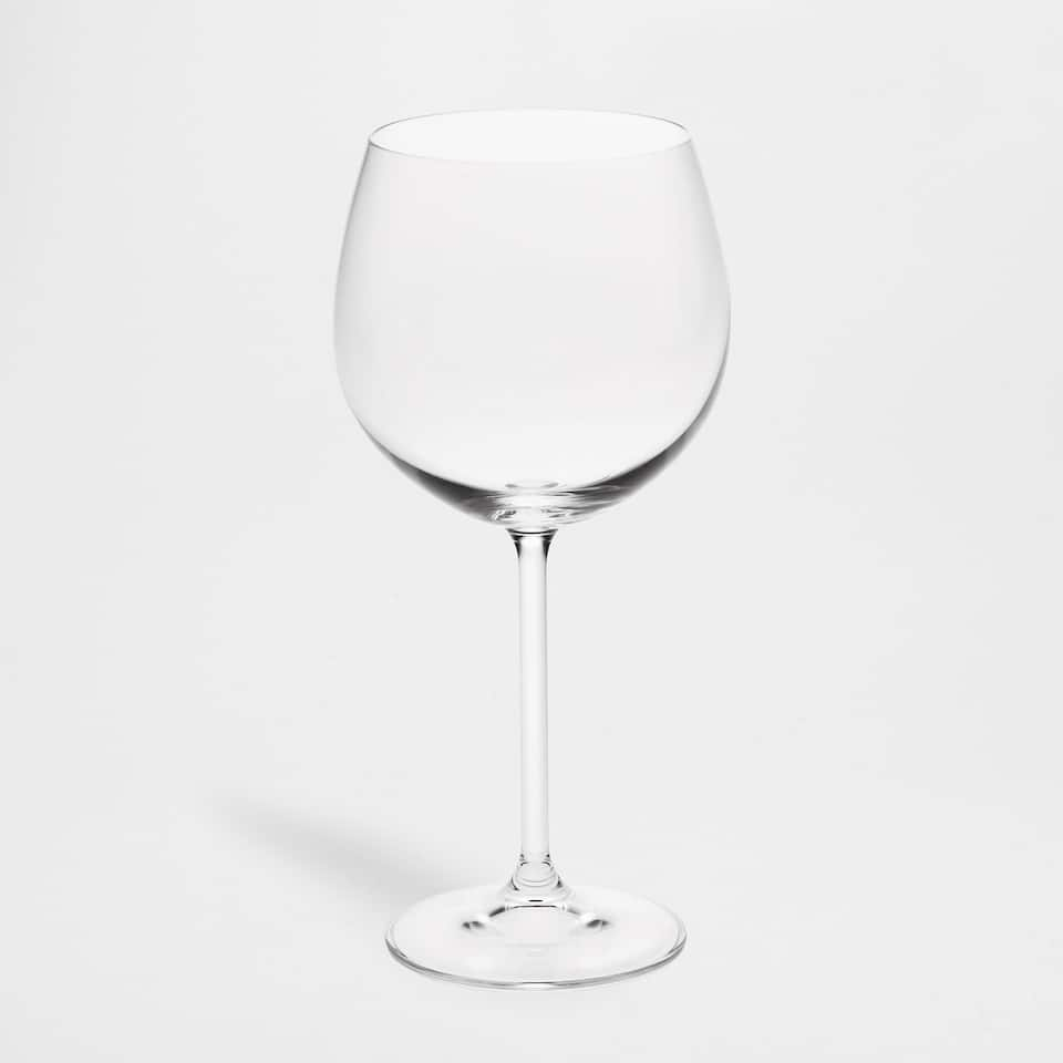 Large Transparent Wine Glass (Set of 2)