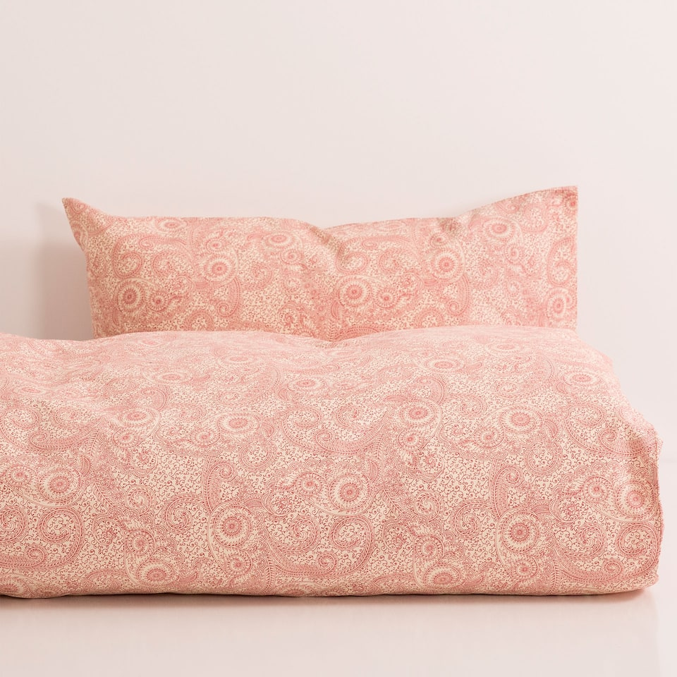 Printed Duvet Cover and Pillow Case Set