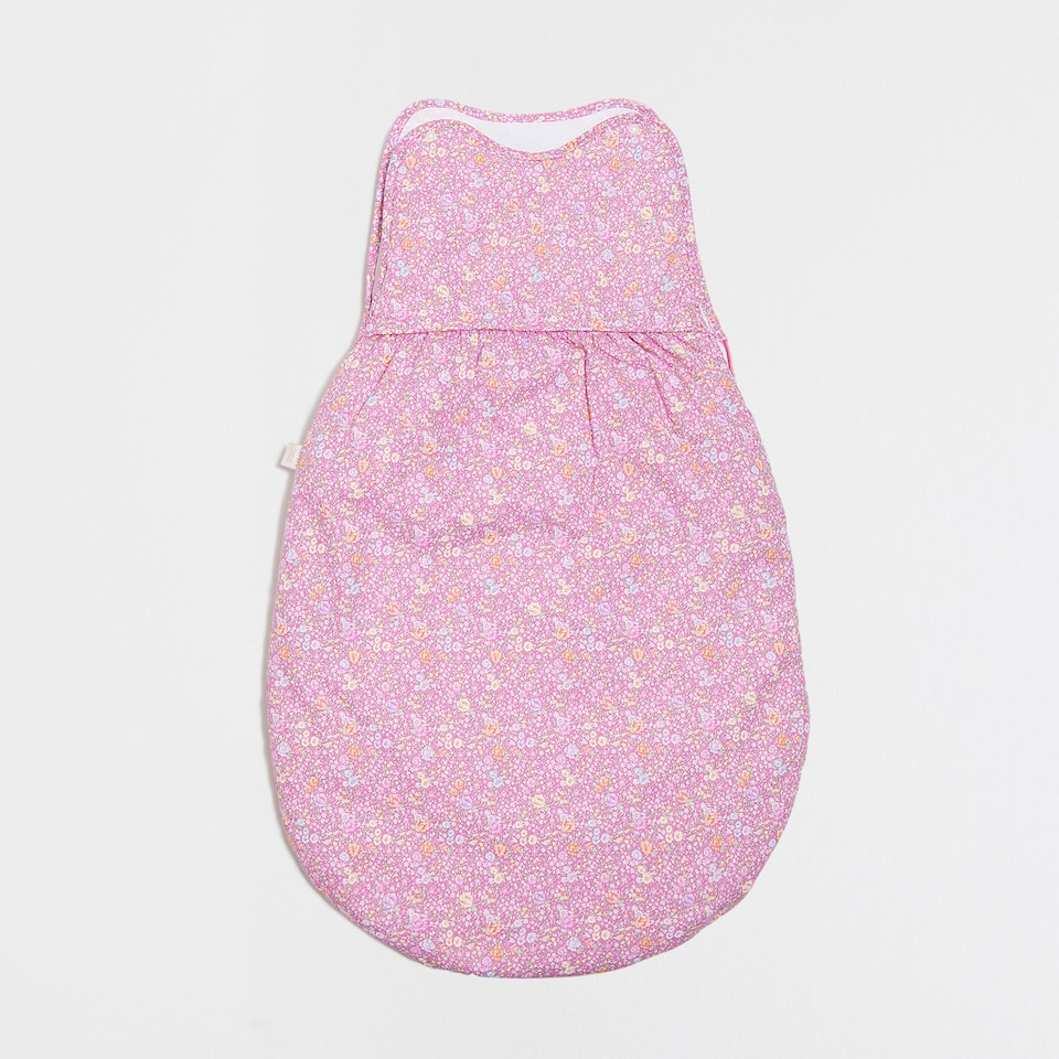 FLORAL PRINT COTTON SLEEPING BAG