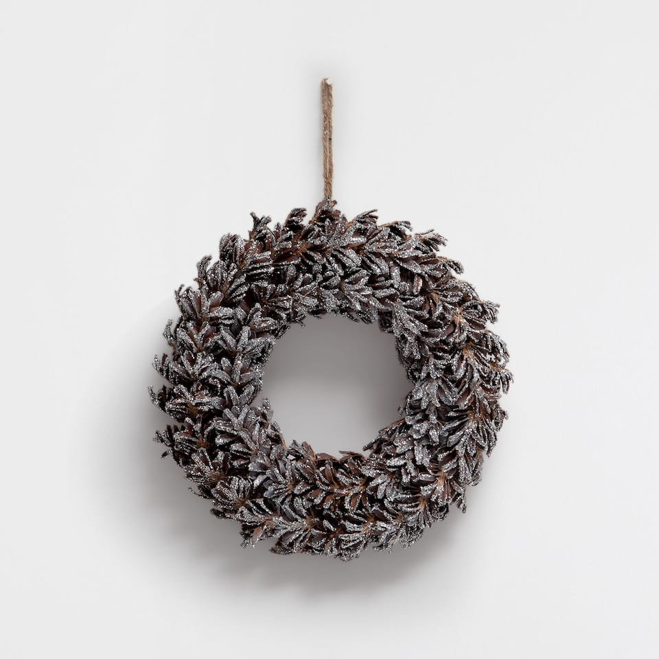 Biscuit with pine cones
