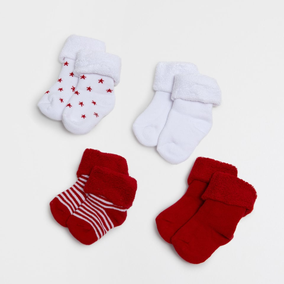 Special edition baby socks (set of 4)