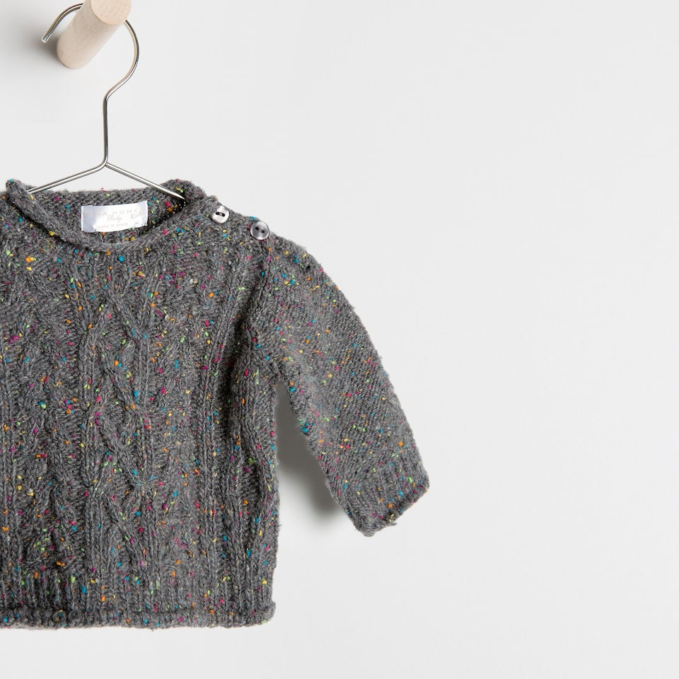 tricot knit sweater