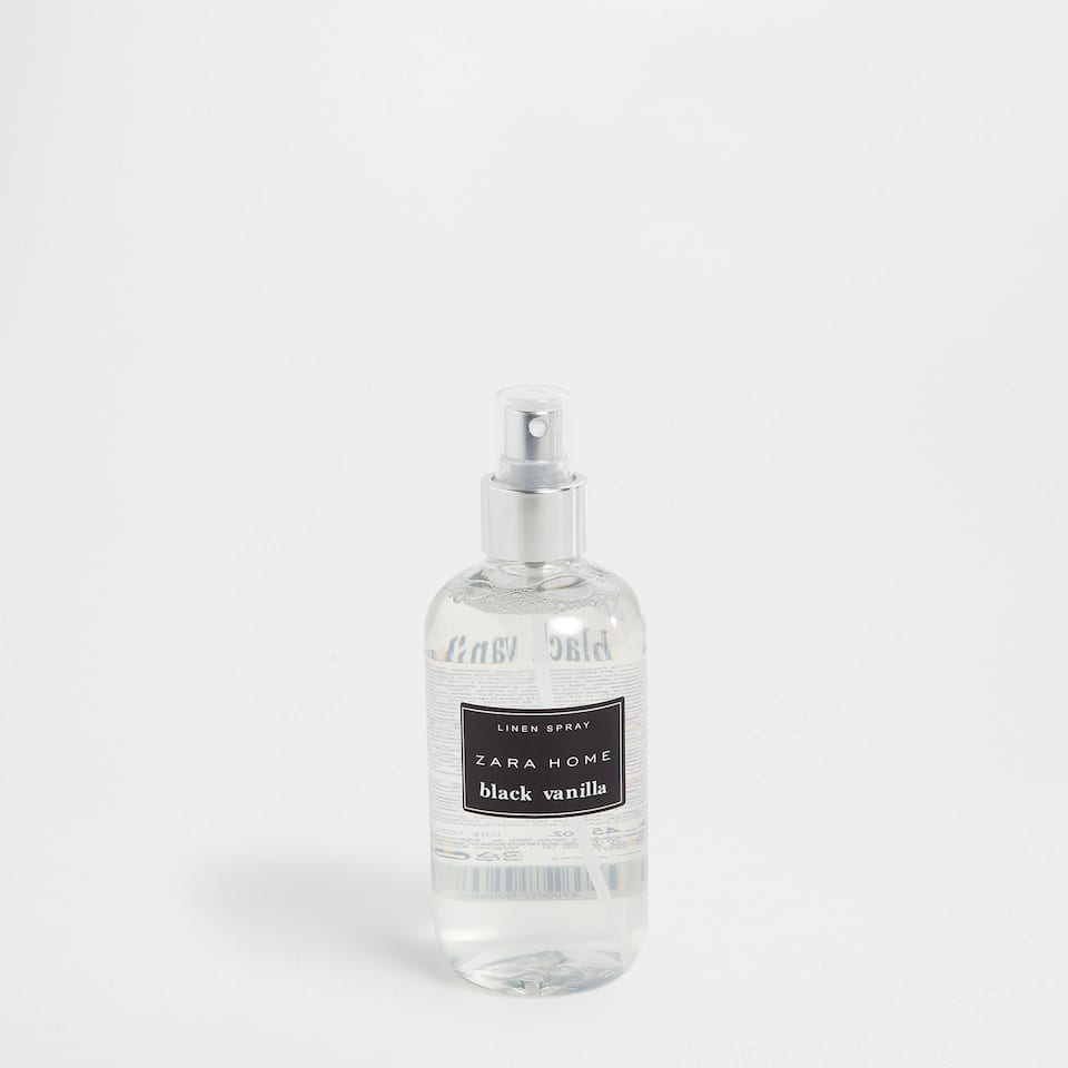 LINEN SPRAY BLACK VANILLA (250 ml)