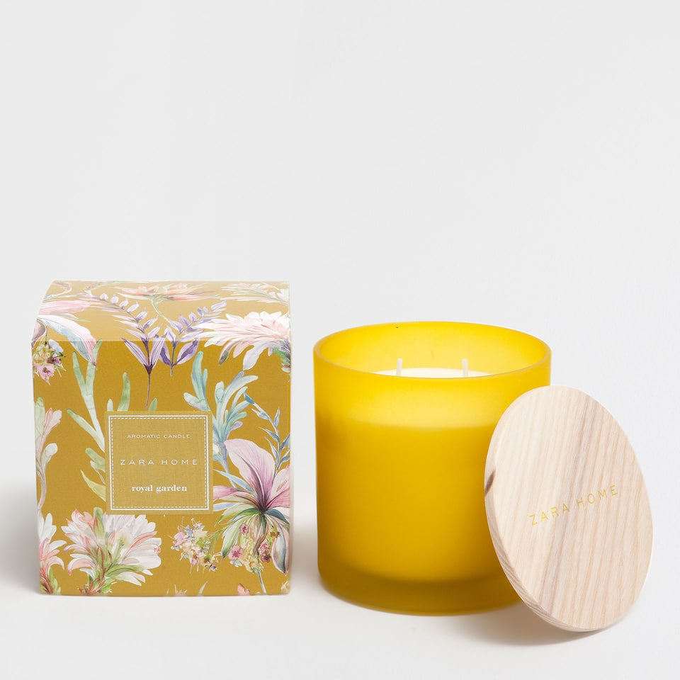 ROYAL GARDEN CYLINDRICAL CANDLE