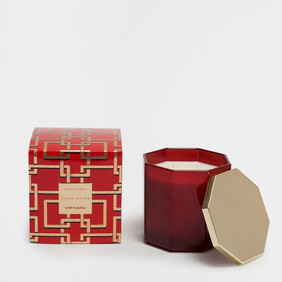WILD BAMBOO CYLINDRICAL CANDLE