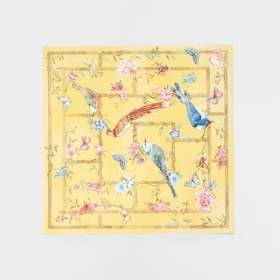 Birds Napkins (Set of 20)