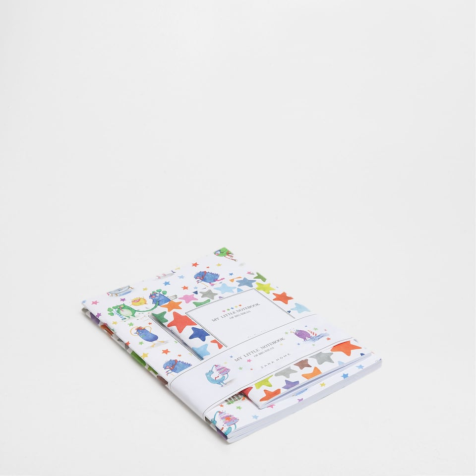 Monsters Notepads (Set of 3)
