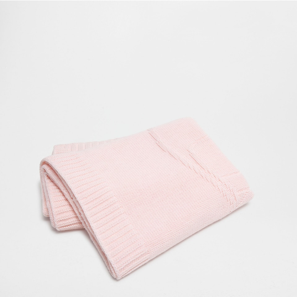 Wool blanket with a ballerinas design