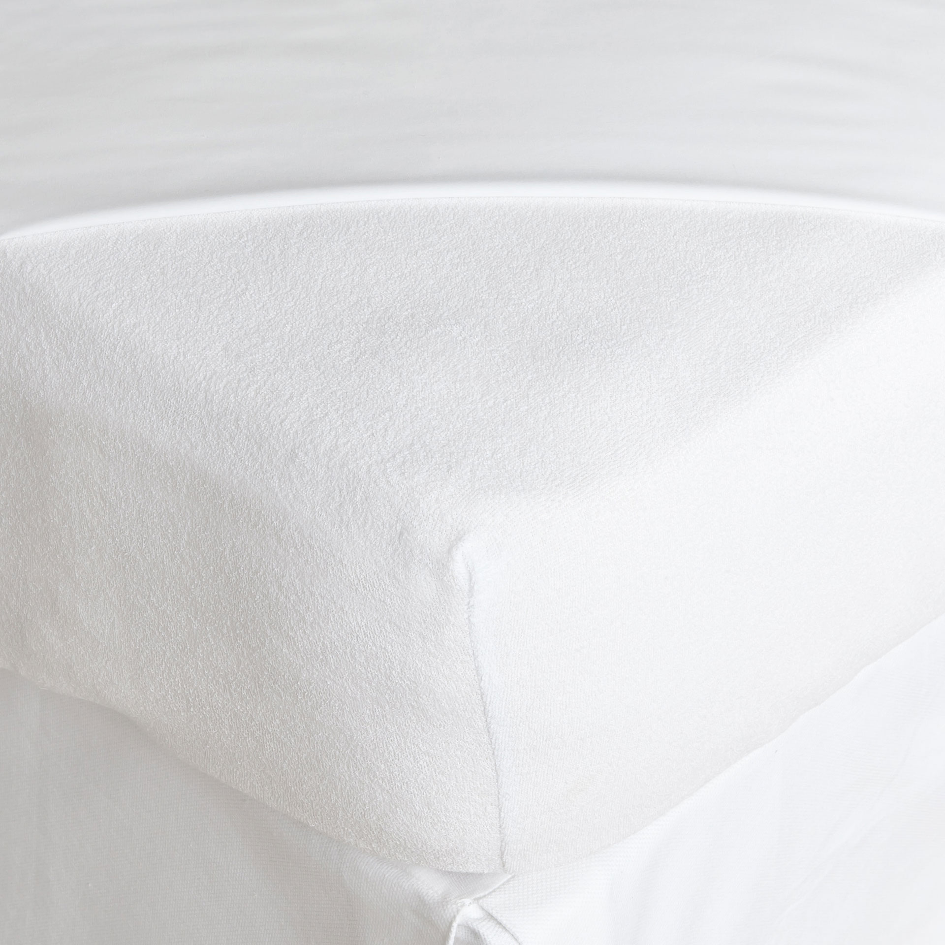 Cotton Terrycloth Mattress Protector