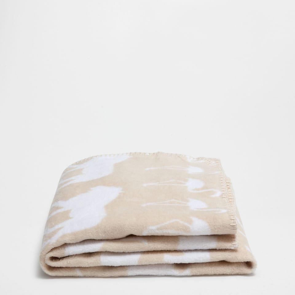 Couverture coton animaux