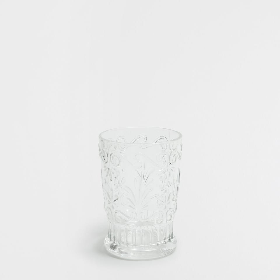 Cut Glass Water Tumbler