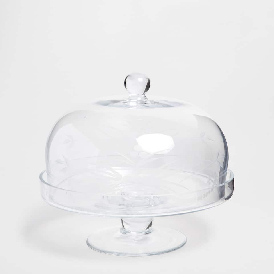 Plain Crystal Serving Dish / Tray