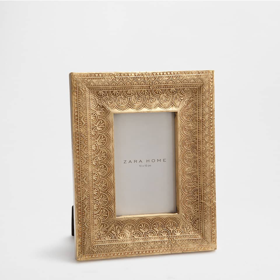 EMBOSSED GOLDEN FRAME