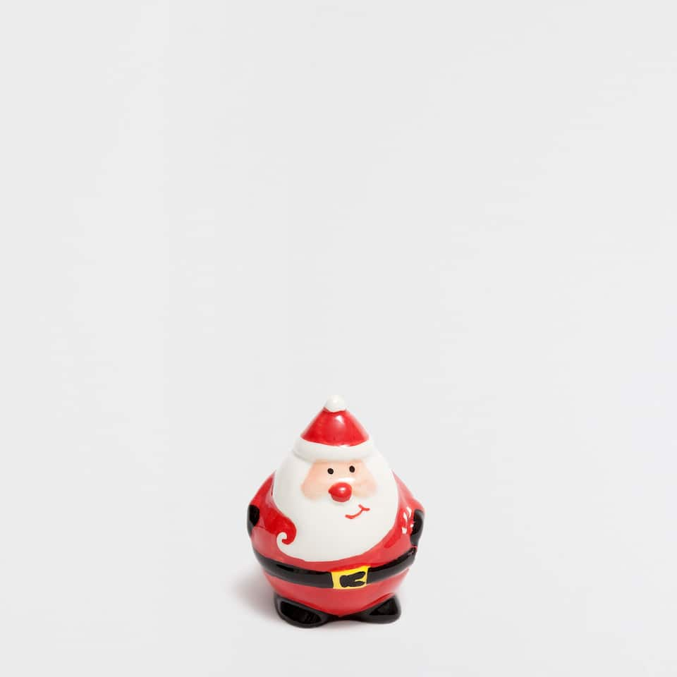 Father Christmas-shaped salt shaker