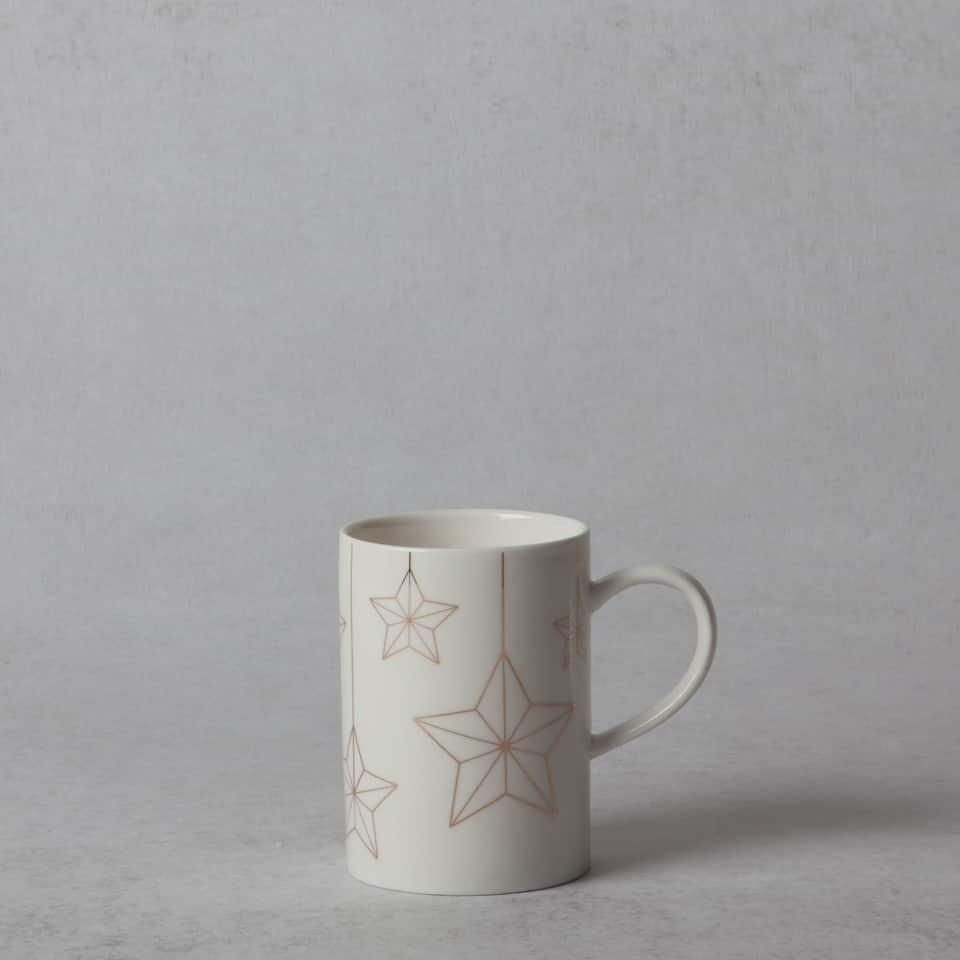 Porcelain stars mug