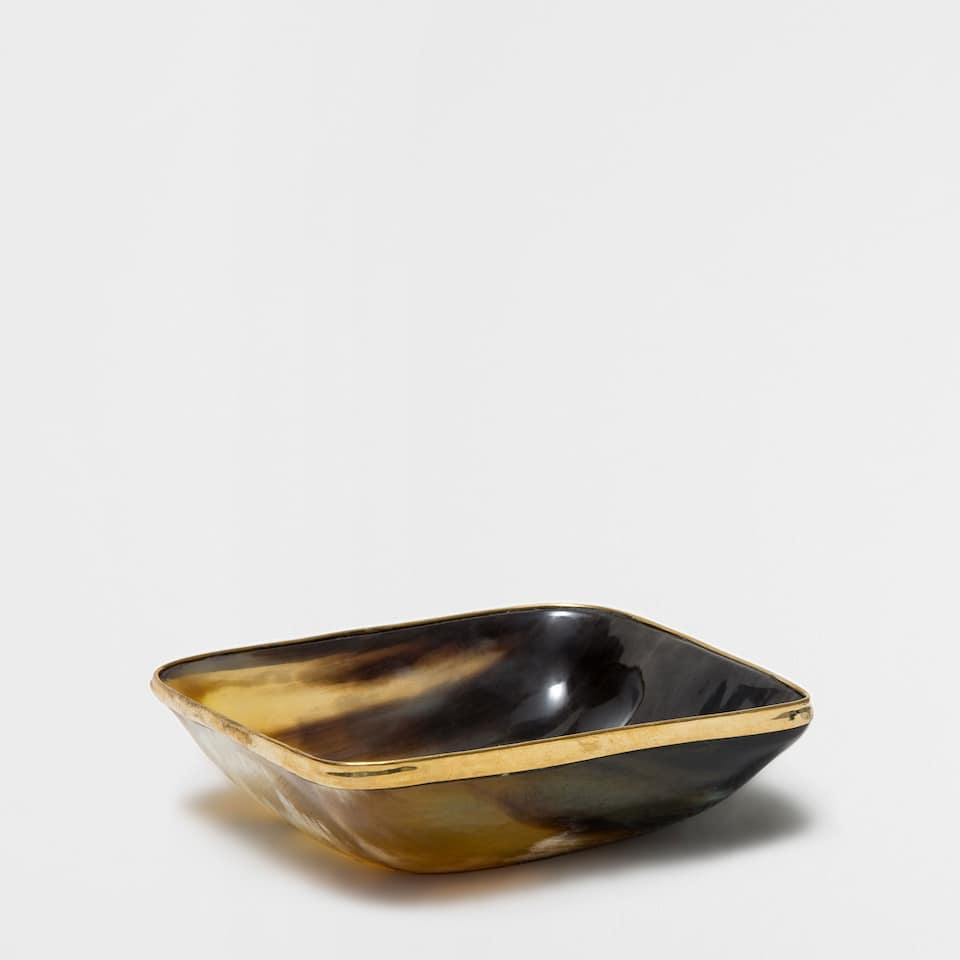 DECORATIVE HORN TRAY