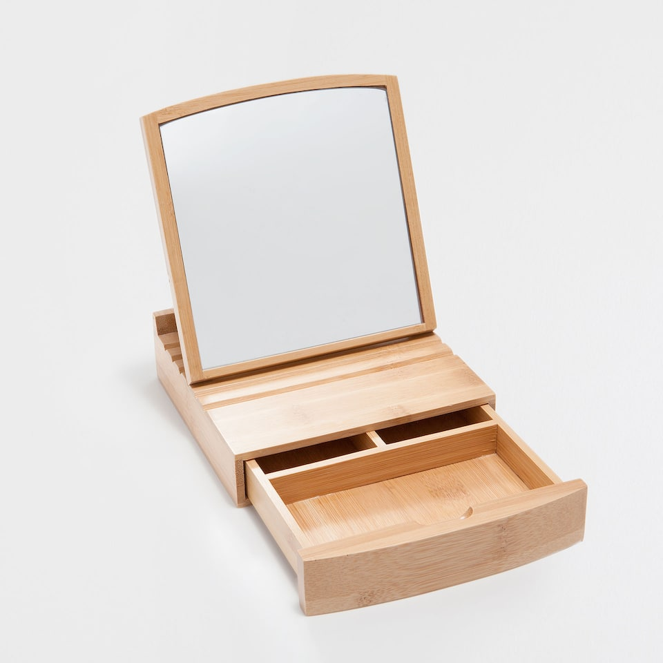 NATURAL BAMBOO MIRROR