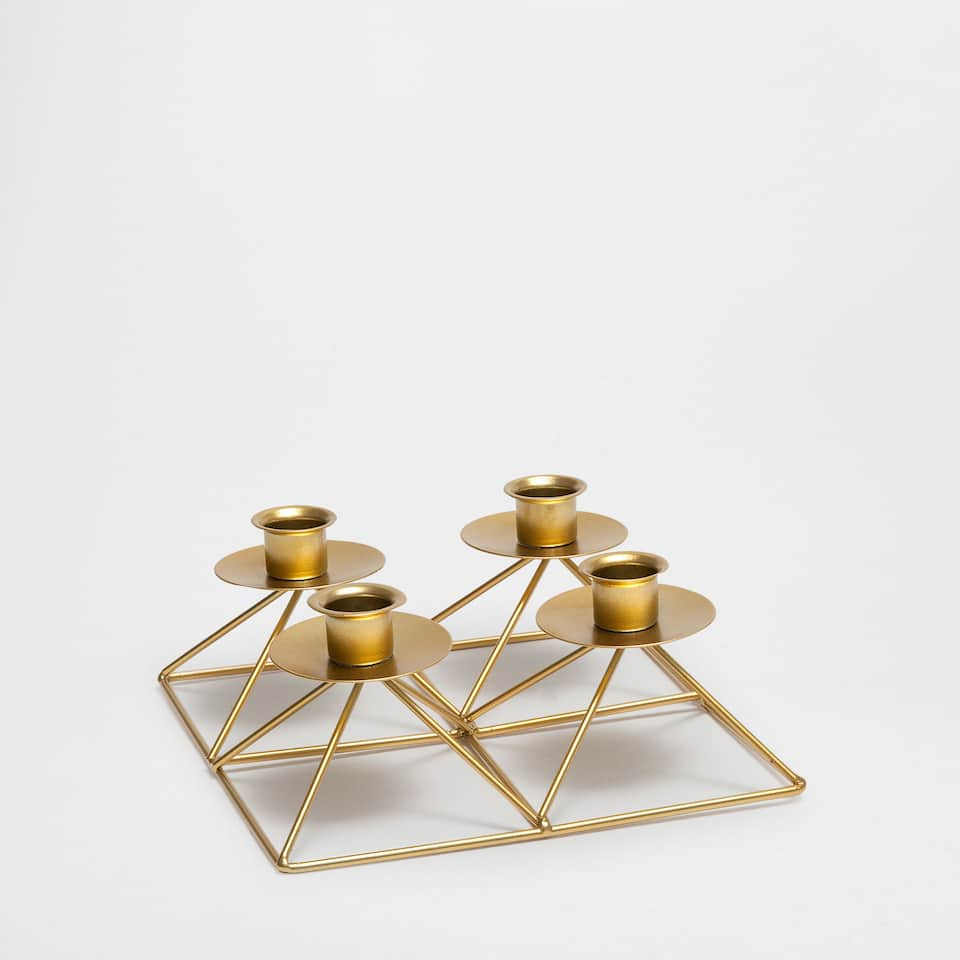 Geometric structure multiple candlestick