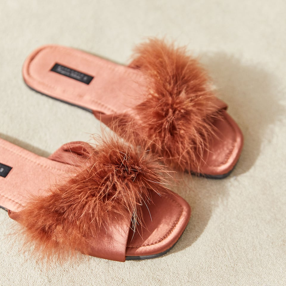 SLIDES WITH FEATHERS