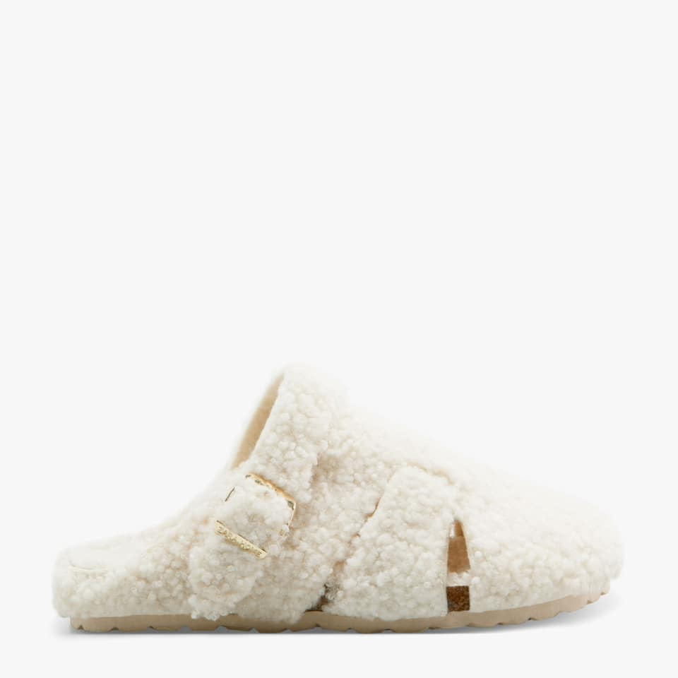 SHEARLING MULE CLOG SLIPPERS