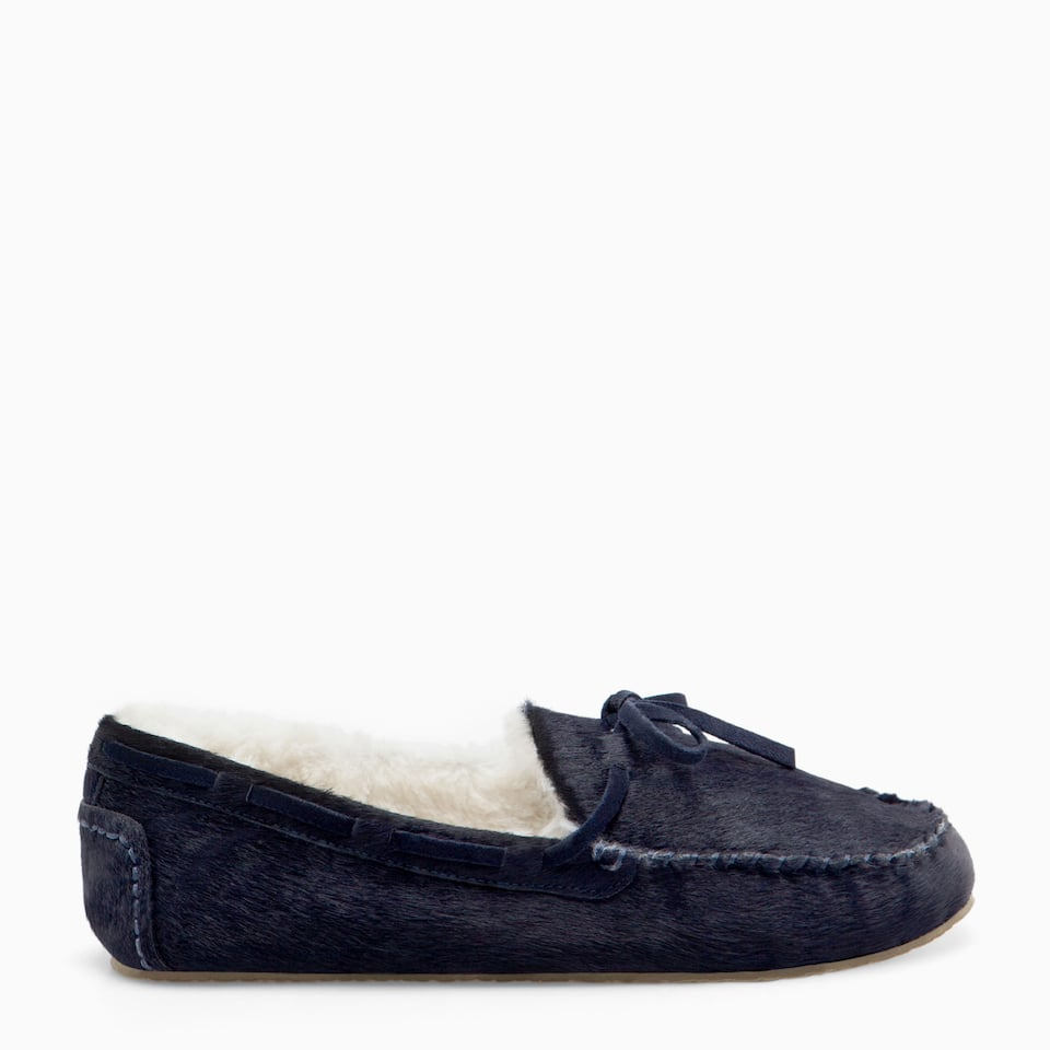 WARM LEATHER MOCCASINS