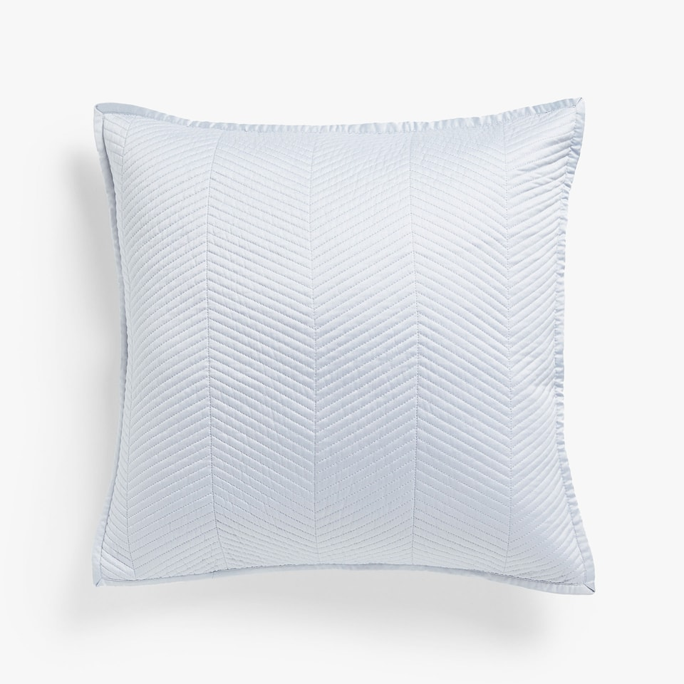 HERRINGBONE MOTIF CUSHION COVER