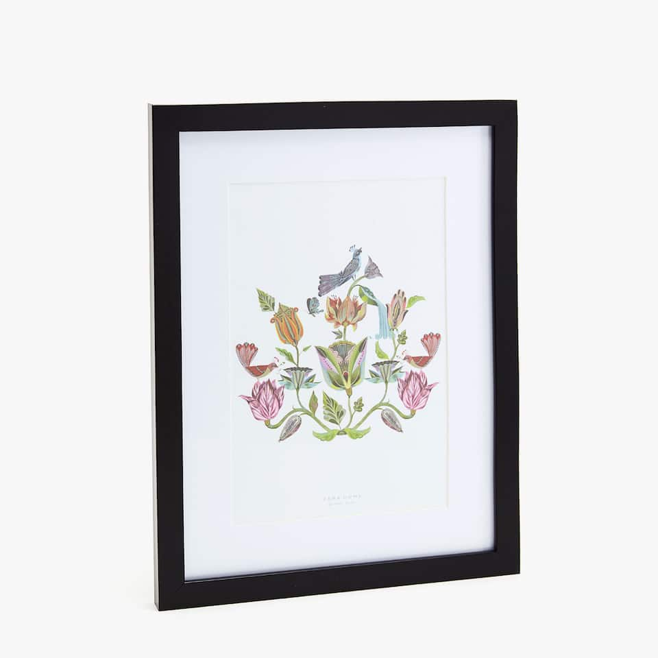 FRAME WITH THIN BLACK BORDER