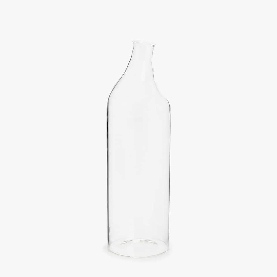 Irregular bottle-shaped vase