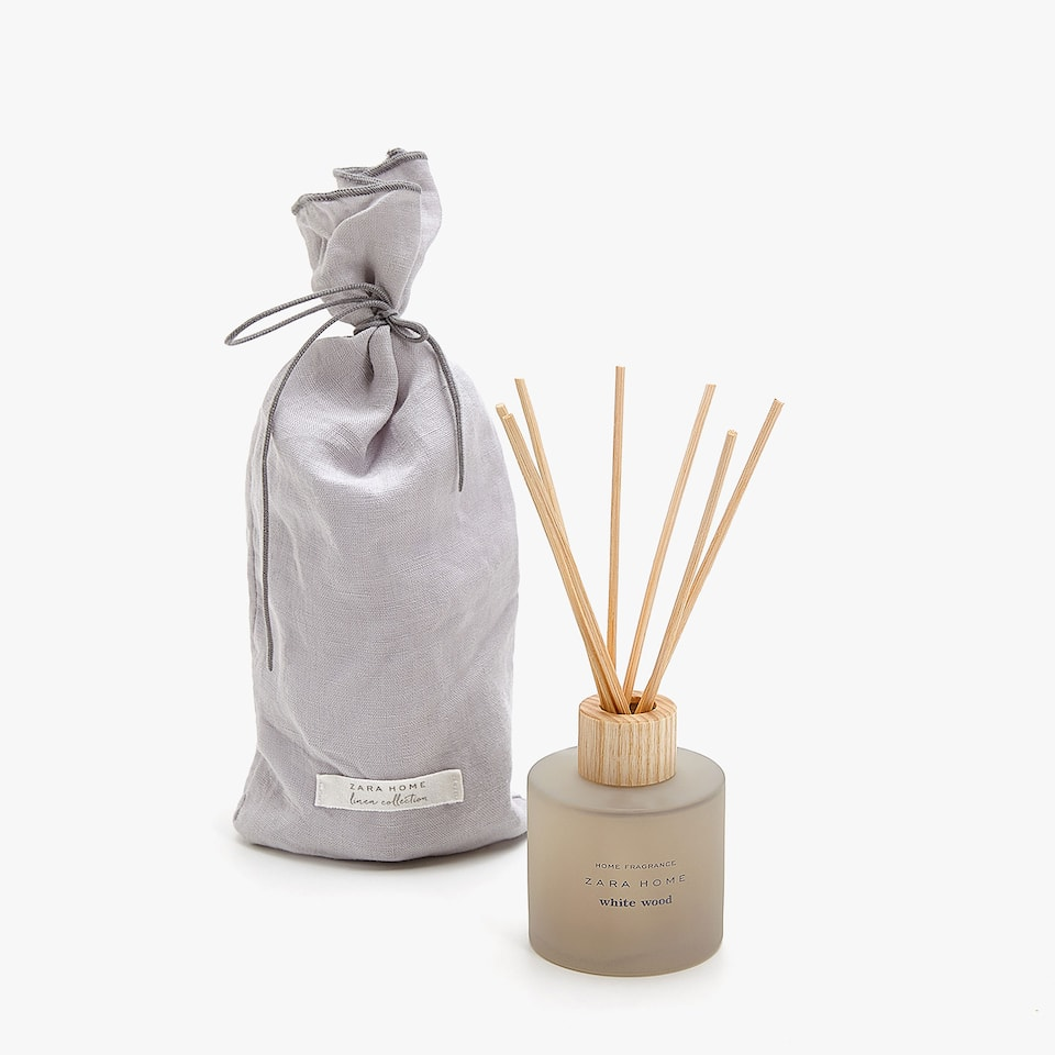 DIFFUSEUR D'AMBIANCE EN STICKS WHITE WOOD (100 ML)
