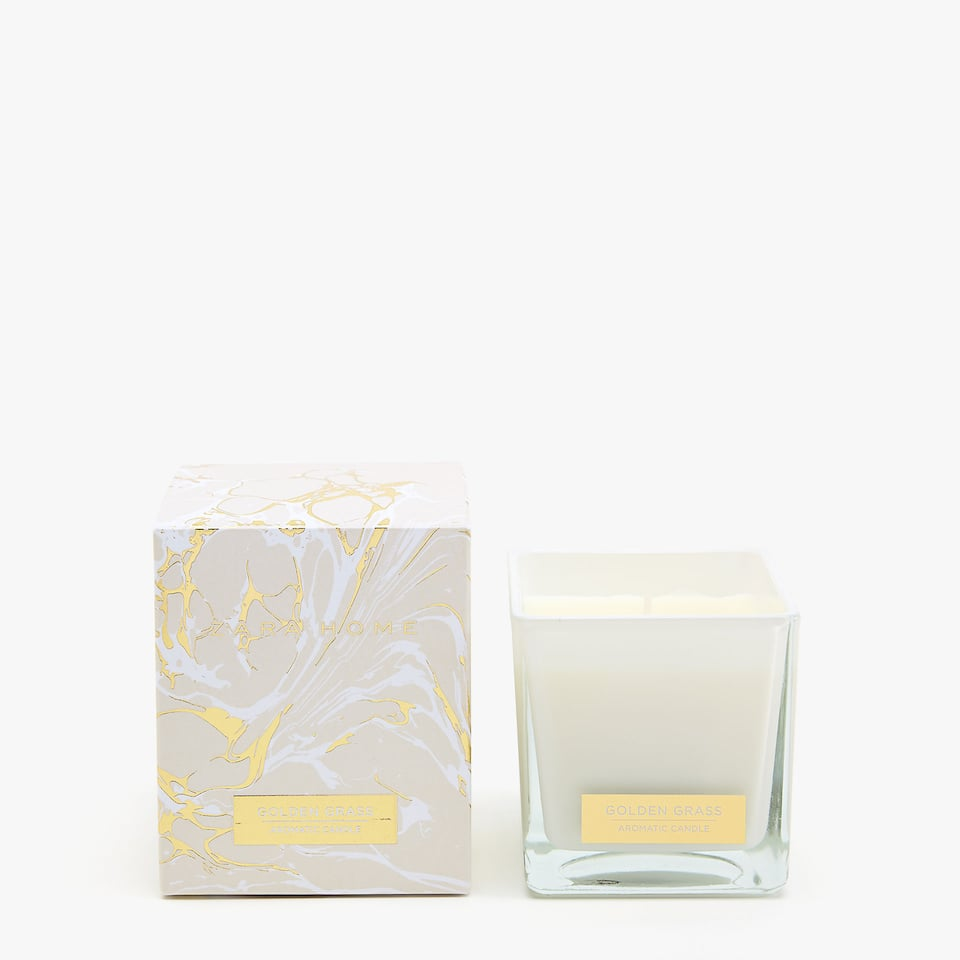 GOLDEN GRASS SMALL CANDLE