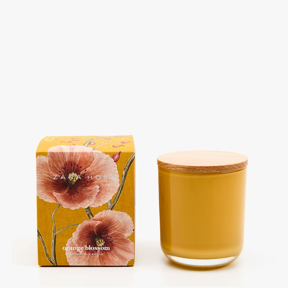 ORANGE BLOSSOM SMALL CANDLE