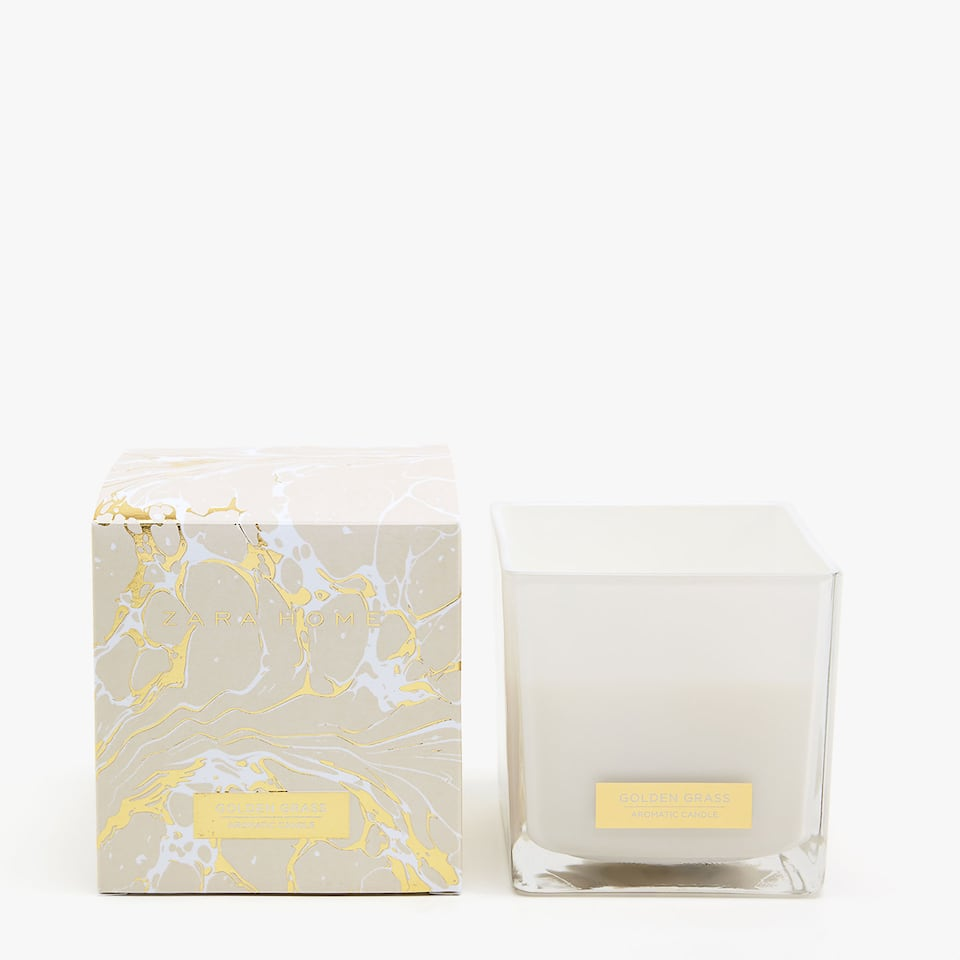 GOLDEN GRASS LARGE CANDLE