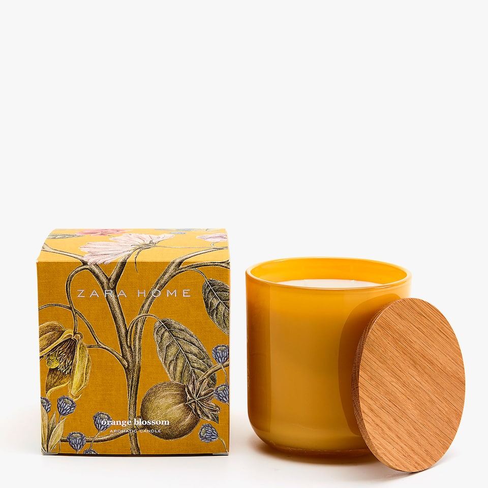 ORANGE BLOSSOM LARGE CANDLE