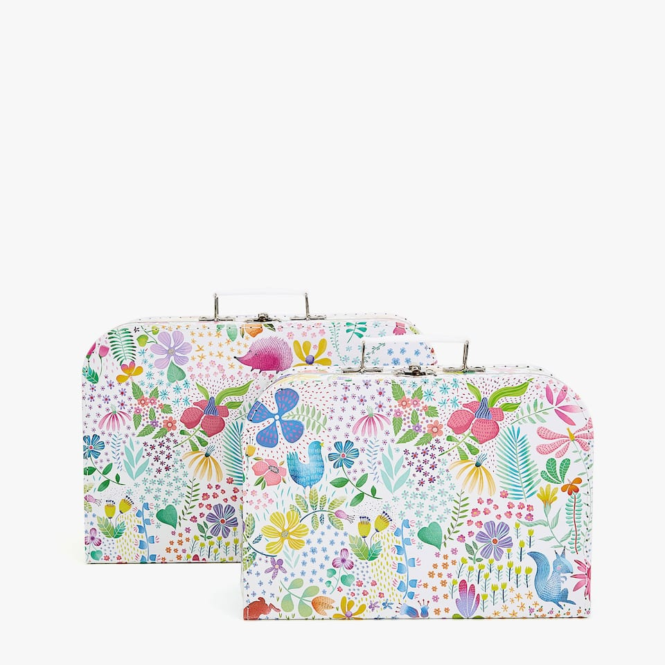 SPRING FOREST PRINT BRIEFCASE