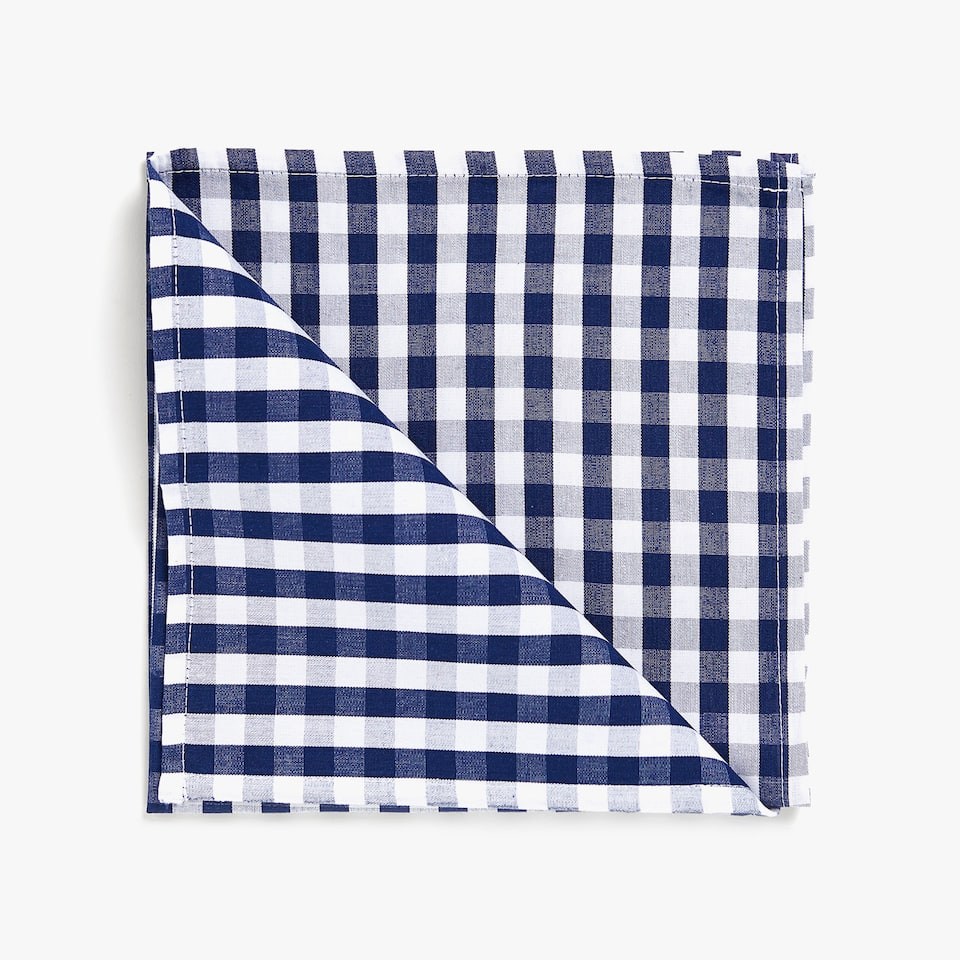 GINGHAM COTTON NAPKIN (SET OF 2)