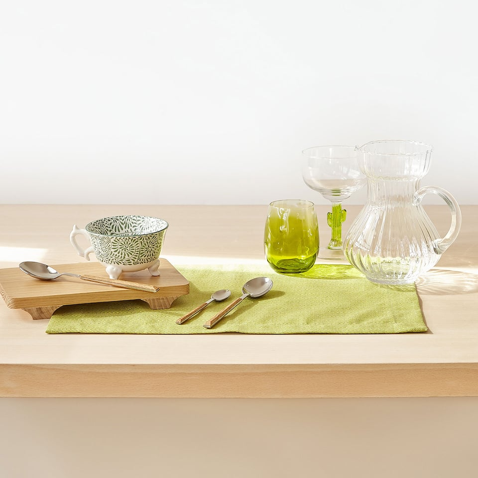 LINEN AND COTTON PLACEMAT