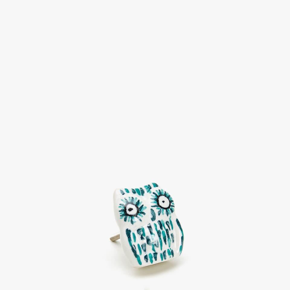 OWL KNOB (SET OF 2)