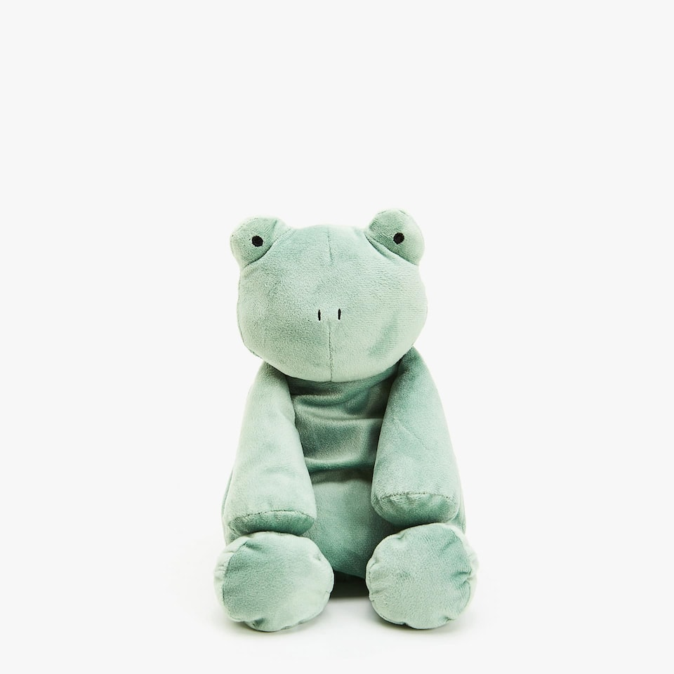 SOFT TOY FROG