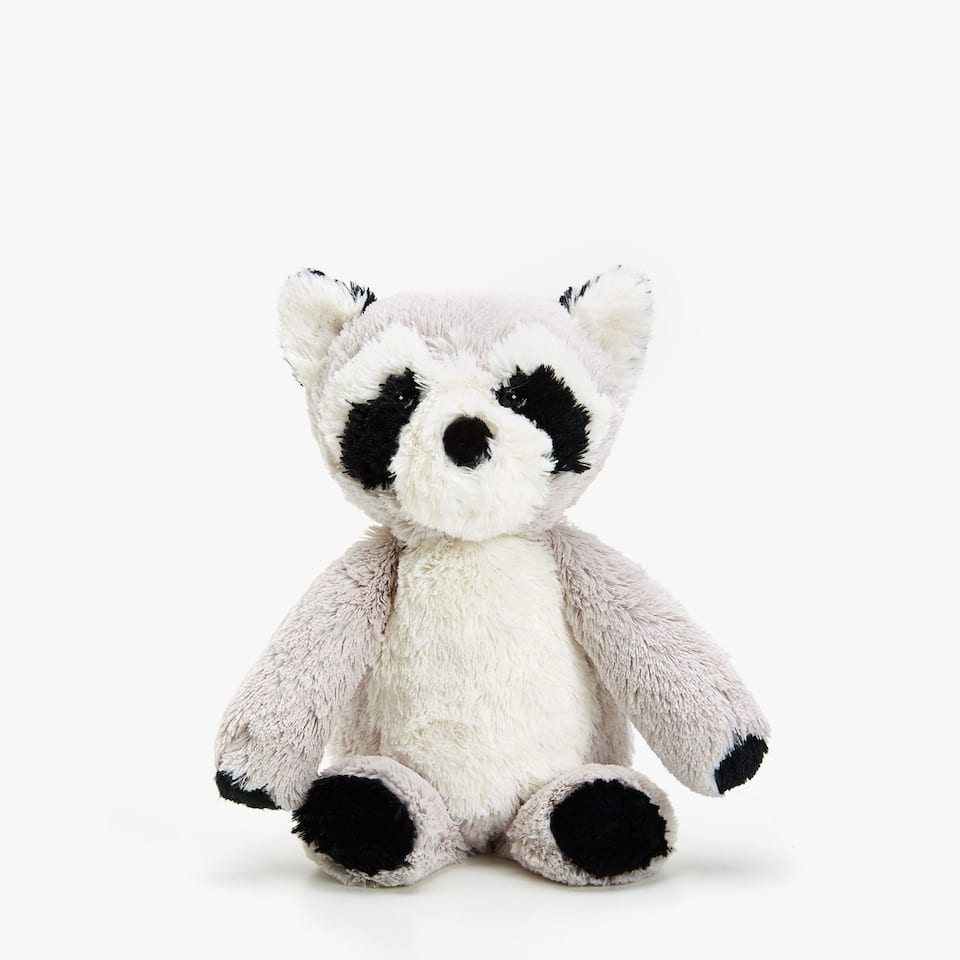 SOFT TOY RACCOON