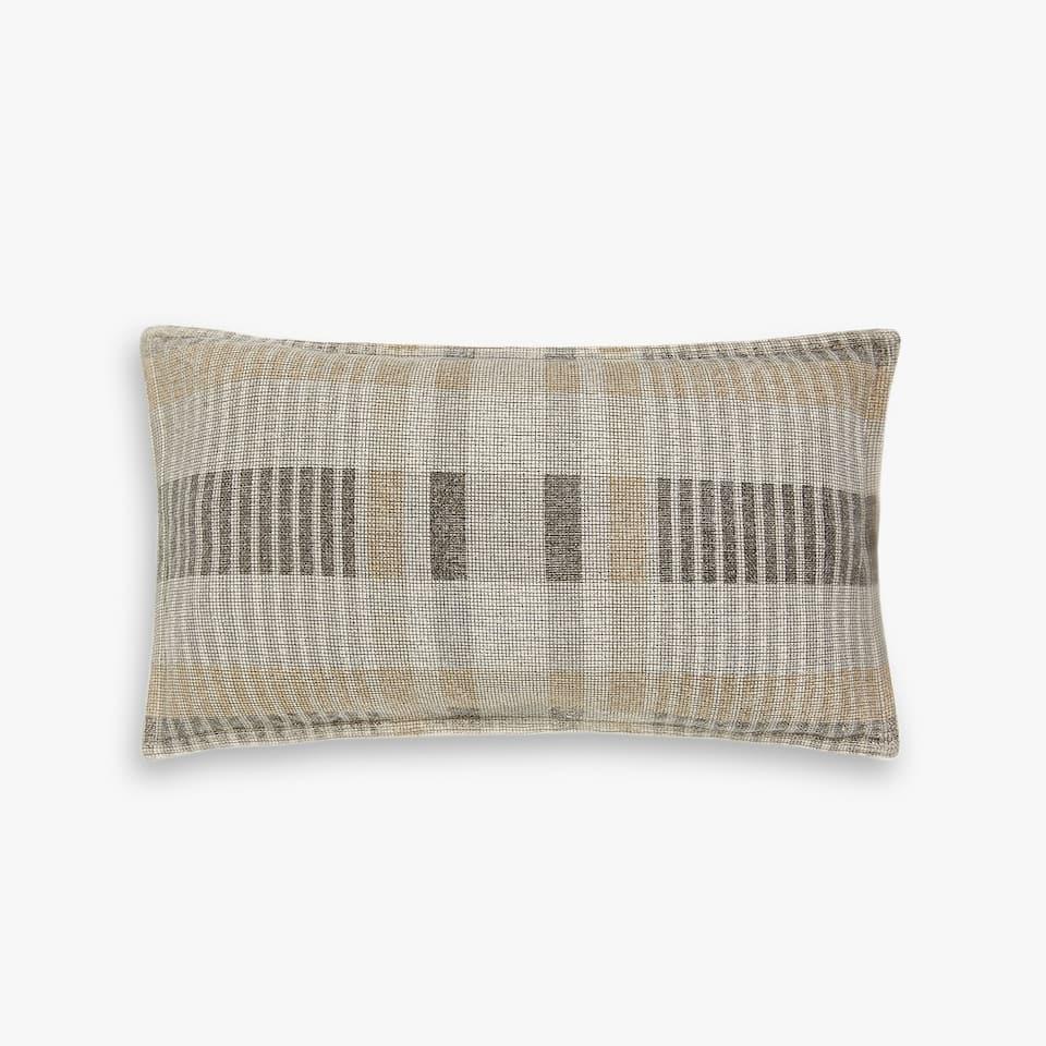 Coarse cotton cushion cover