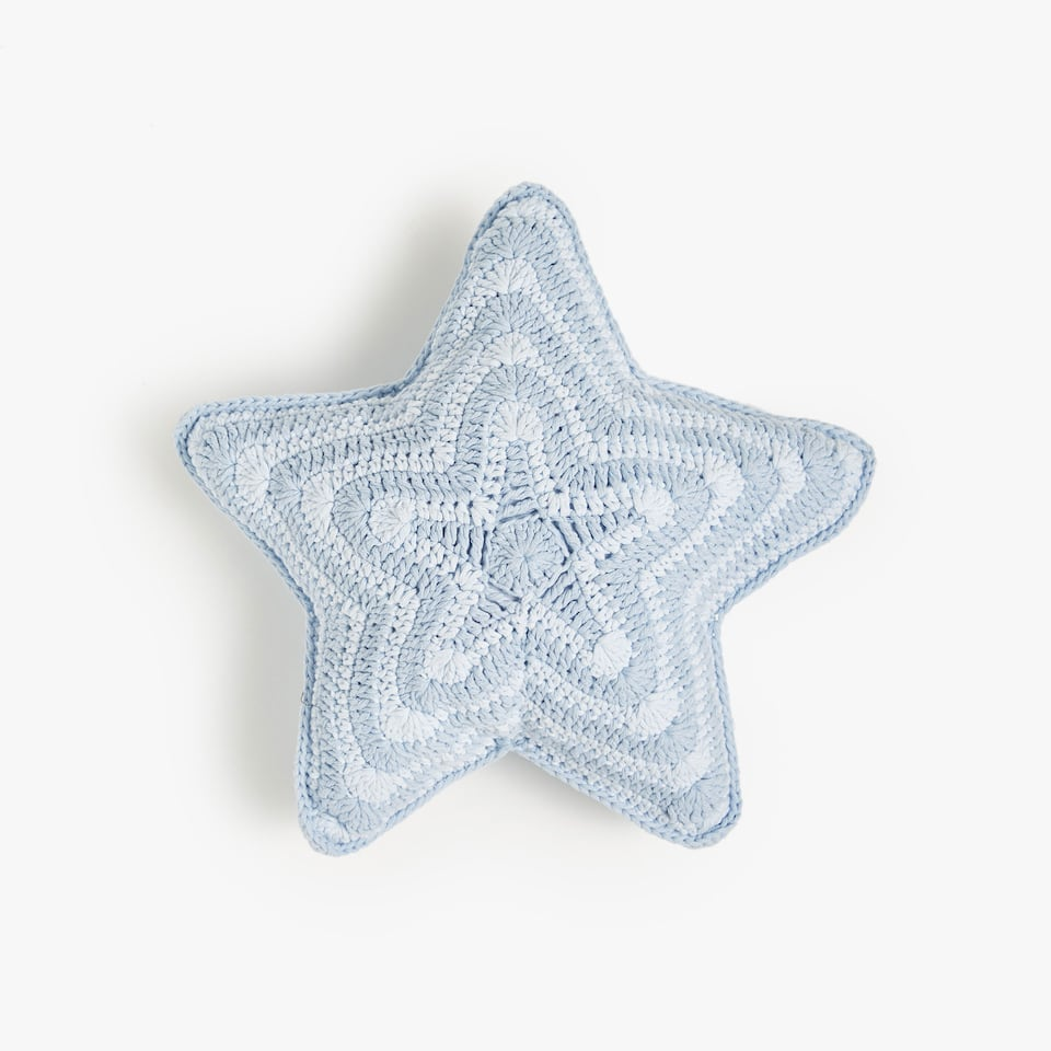 KIDS COJIN CROCHET STRIPE STAR