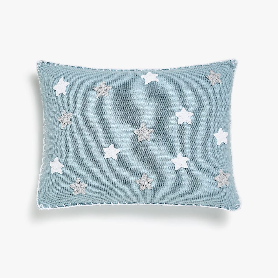 KIDS FDA COJIN CROCHET MINI STAR