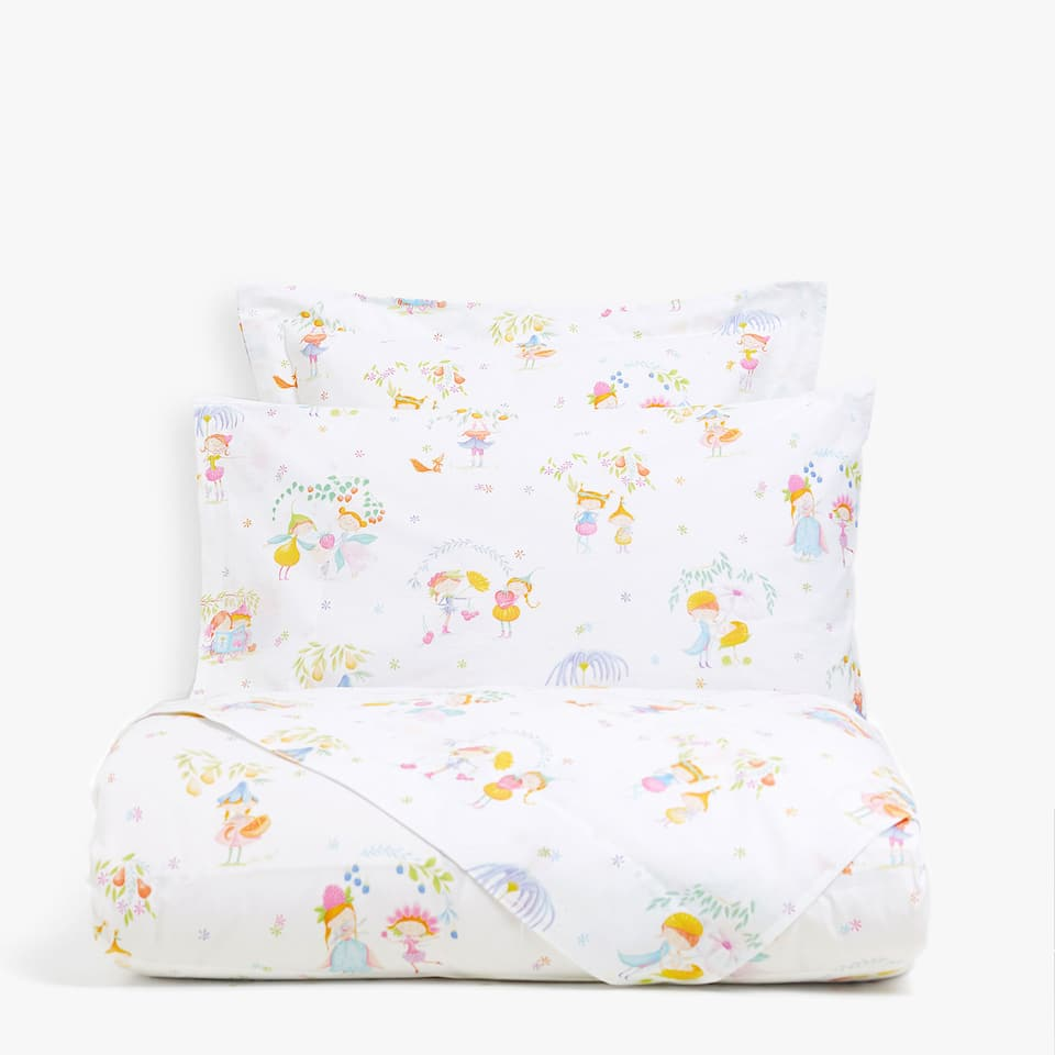 FRUIT PARTY PRINT DUVET COVER
