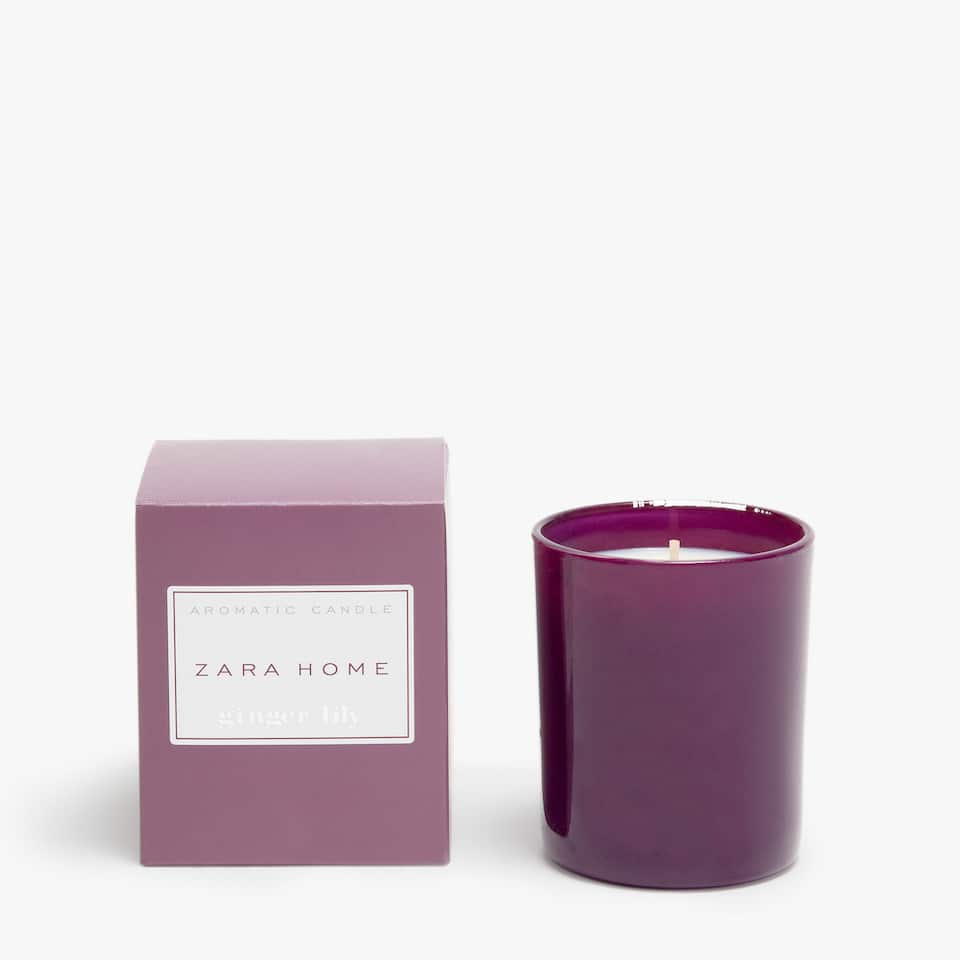 Ginger Lily Aromatic Candle